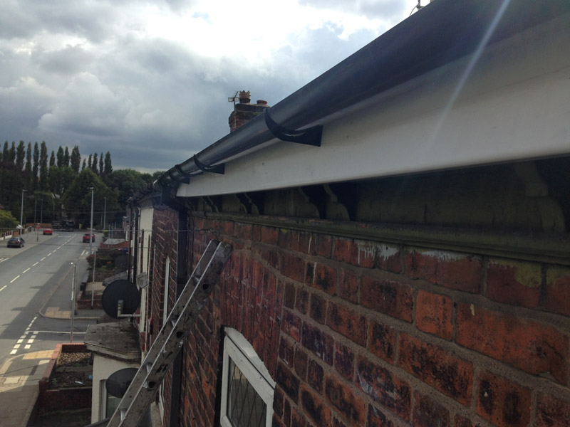 guttering and fascias after