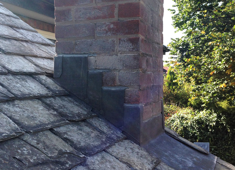 Leadwork in Urmston