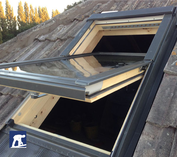 skylight installation from renown roofing manchester
