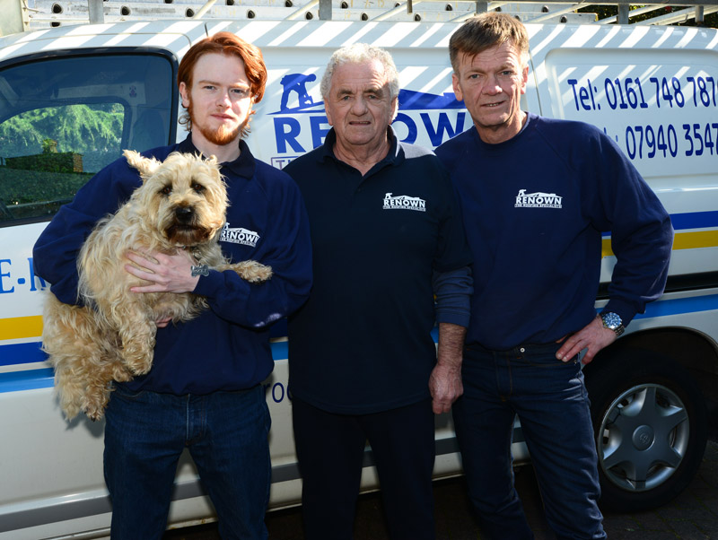 the renown roofing manchester team