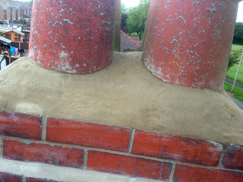 chimney stack repair