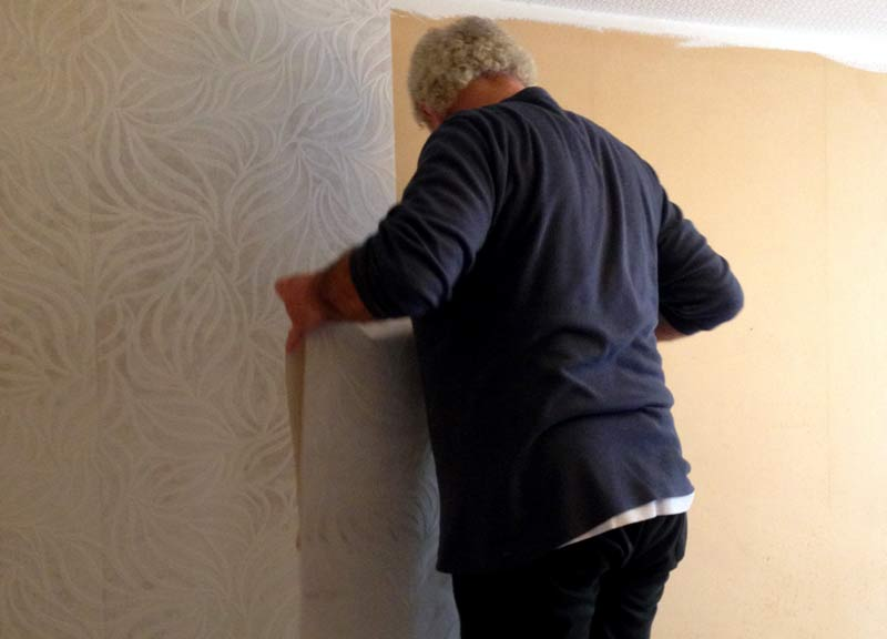 peter ogrady hanging wallpaper